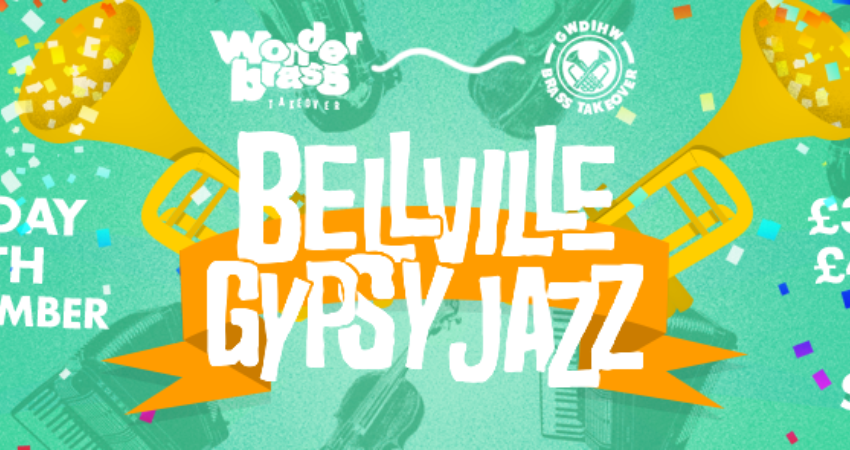 WONDERBRASS & FRIENDS TAKEOVER: BELLEVILLE WITH MADDIES JONES