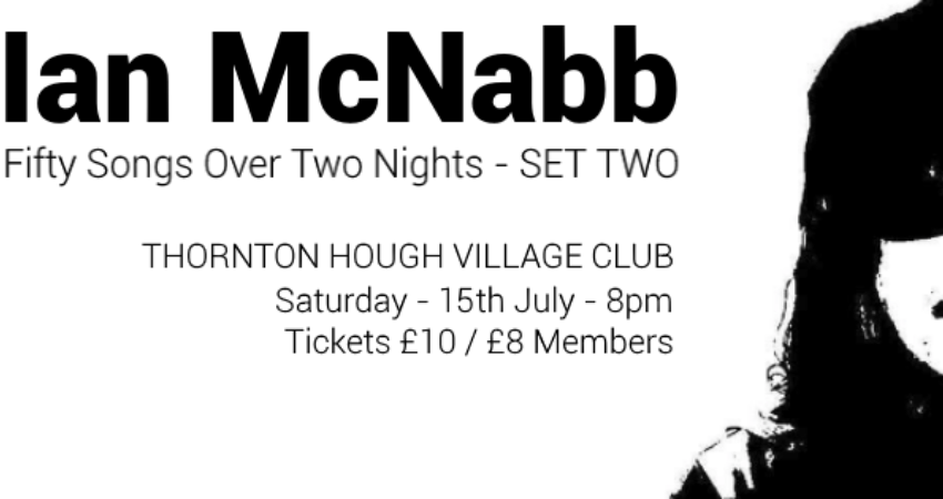 IAN MCNABB - 50 SONGS OVER TWO NIGHTS (SET TWO)