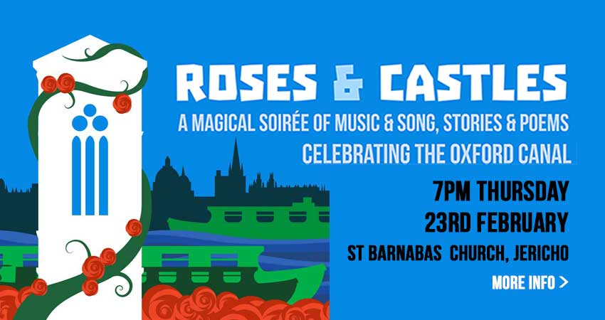 ROSES AND CASTLES - A CELEBRATION OF THE OXFORD CANAL