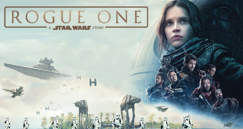 STAR WARS ROGUE ONE (12A)