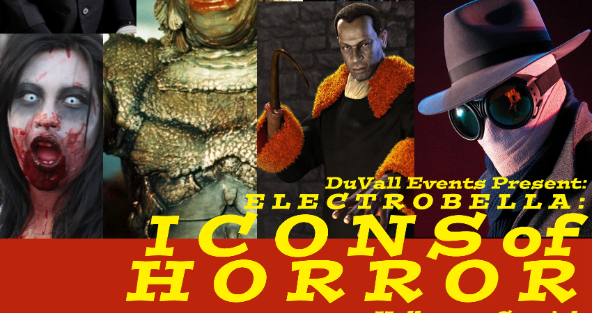 DUVALL EVENTS 'ICONS OF HORROR'