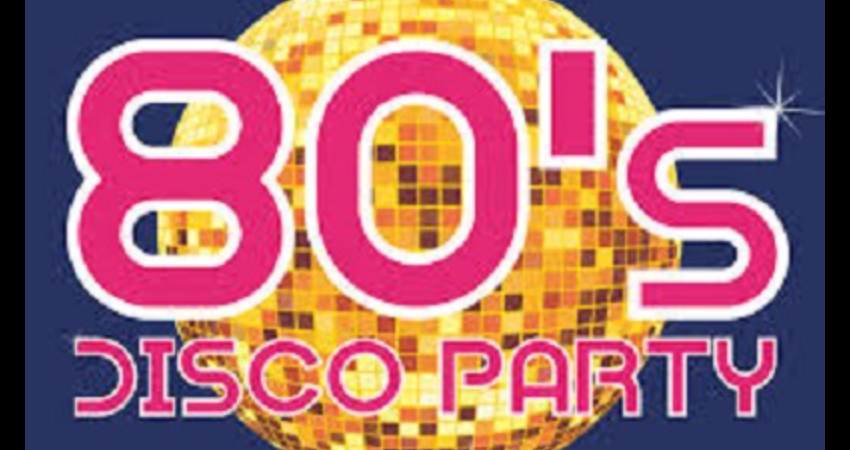 THE 80'S DISCO PARTY NIGHT