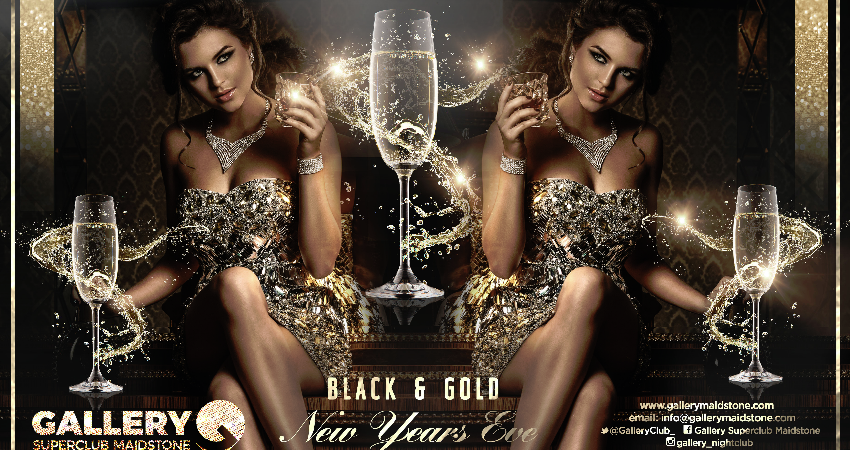 GALLERY SUPERCLUB PRESENTS: THE BLACK AND GOLD NEW YEAR'S EVE SOIREE