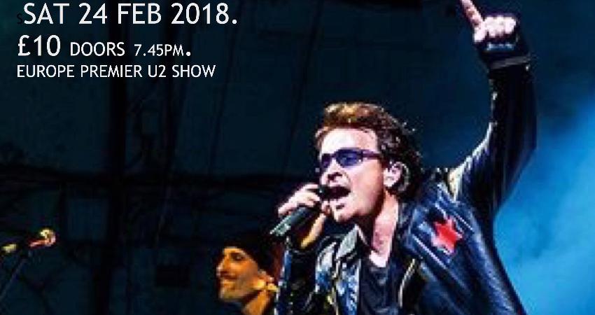 U2UK-THE U2 TRIBUTE SHOW.