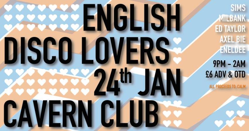 ENGLISH DISCO LOVERS!