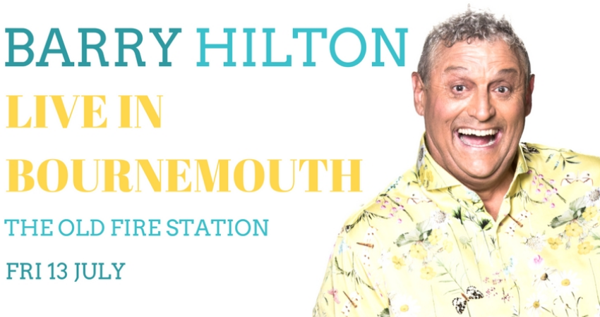 BARRY HILTON LIVE IN BOURNEMOUTH