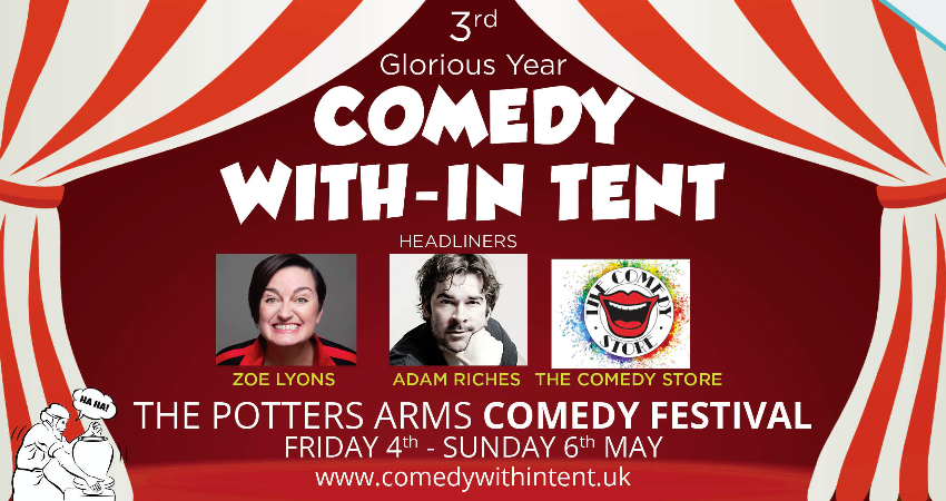 POTTERS ARMS COMEDY FESTIVAL