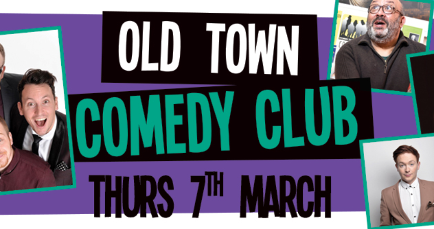 Image of: Comedy Shows Old Town Comedy Club W The Noise Next Door Chortle Wegottickets Simple Honest Ticketing Old Town Comedy Club