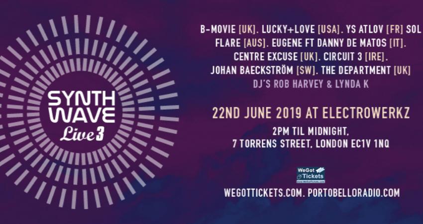 WeGotTickets | Simple, honest ticketing | SYNTH WAVE LIVE 3 Festival
