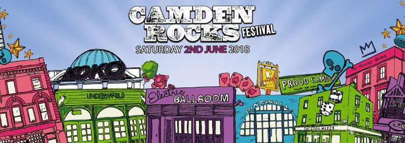 Camden Rocks Festival | Maximo Park, PIL, and Twin Atlantic to play
