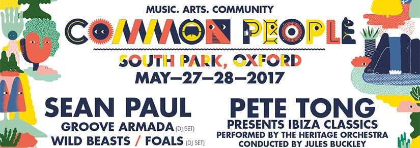 Common People   Oxford, South Park, 27th - 28th May