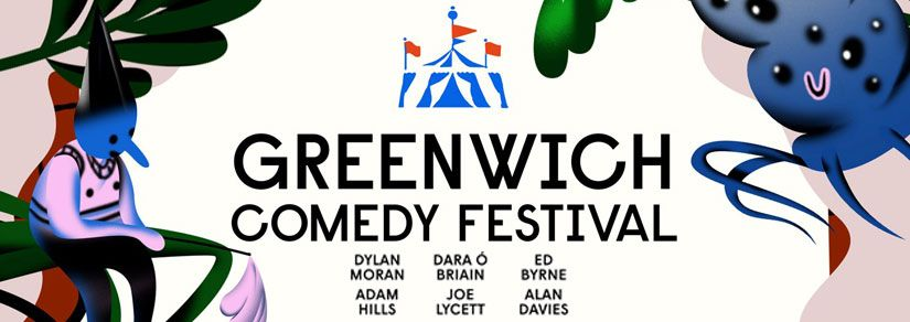 Greenwich Comedy Festival | Brilliant line-up of top comics