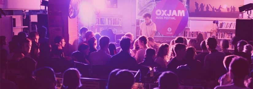 Oxjam Music Festival | Proud to be the festival's Official Ticketing Partner