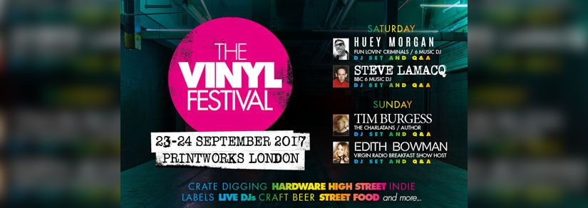 The Vinyl Festival | Crate digging, live DJs, street food and more