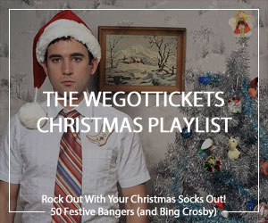 WeGotTickets Spotify Christmas playlist